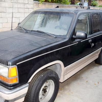 1994 Ford Explorer. Runs. Needs work. Available for Pre-sale. $500