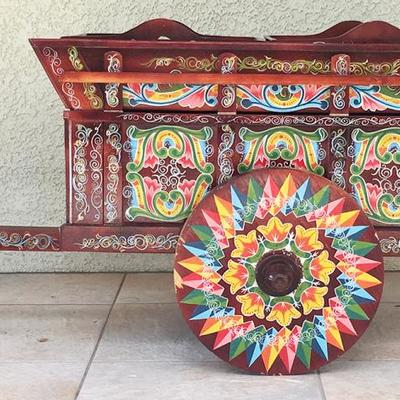 La Carreta - Costa Rican ox cart replica / maid bar / drinks.