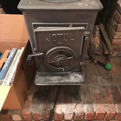 Jotul Woodburning stove.