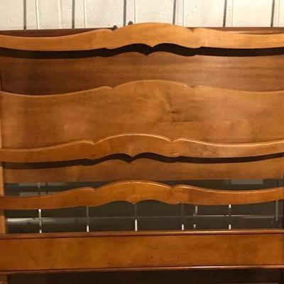 Oak Bed Frame.