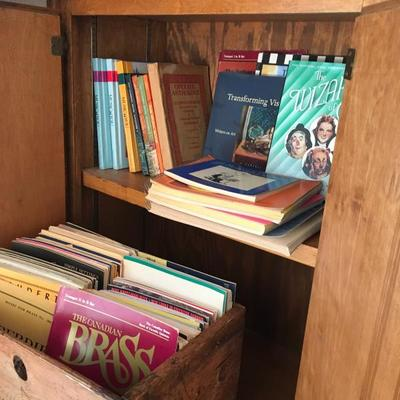 Lots of Sheet Music, Music Books