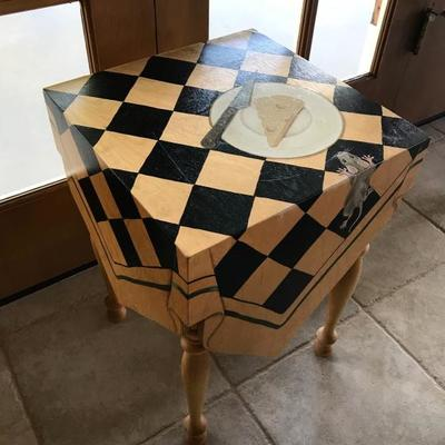MacKenzie Childs whimsical small table
