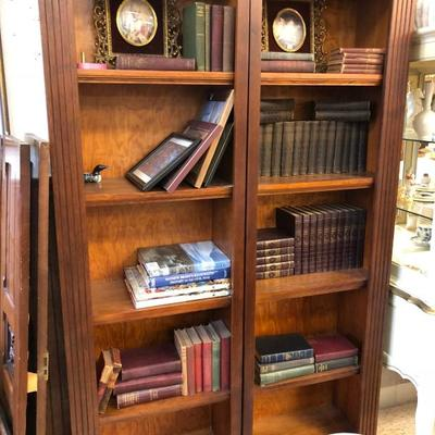 bookcase case is 2 piece $225 OBO