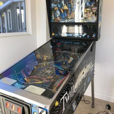 1993 Bally Twilight Zone Pinball Machine