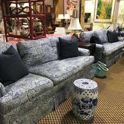 hickory chair paisley sofas