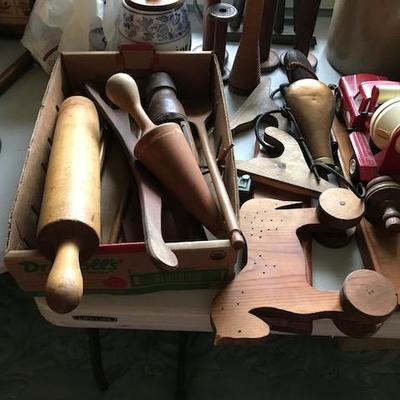 Primitive Wood Tools.