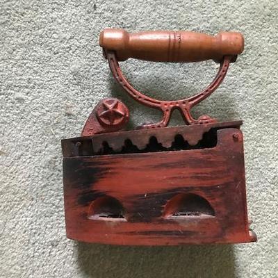 Antique Red Iron.