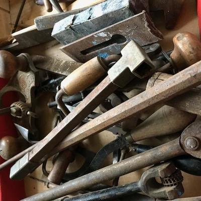 Assorted Tools.