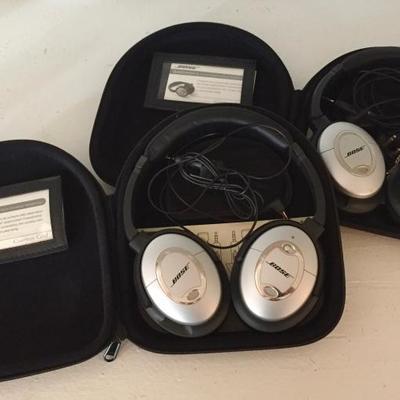 Bose Quiet Comfort 2 Acoustic Noise Cancelling Headphones