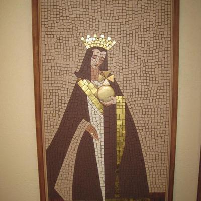 Mid Century Artist Crafted Mosaic