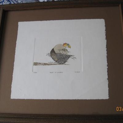 H Weld Numbered Limited Edition Print  Titled