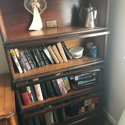 Books and Barrister Case.