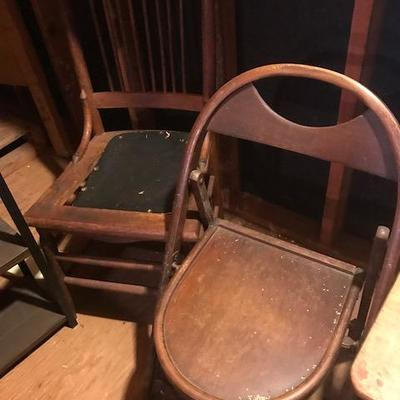 Antique Chairs.