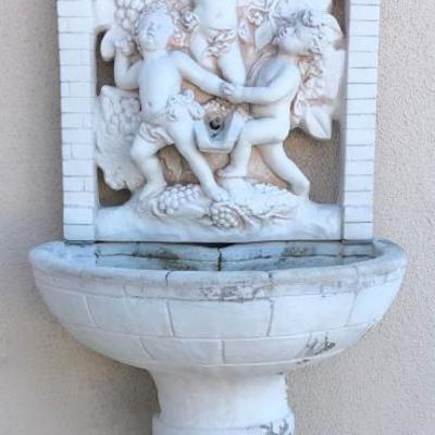 3 Cherubs Garden Fountain