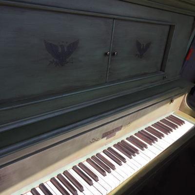 Piano in Victorian Design.