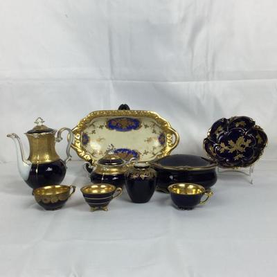 Lot # 10 Set of 9 Porcelain Pieces