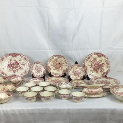 Lot # 17 Set of royal Ducal Bristol China 47 pcs.
