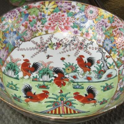 Asian rooster bowl