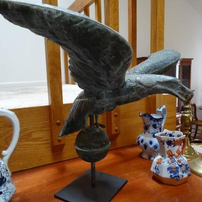 Tin Eagle Weather vane from the early 29th century ,