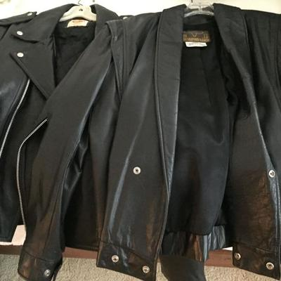 Women's Leather Jackets.