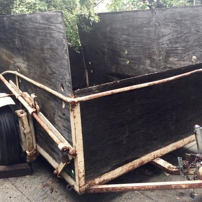 Vintage swing trailer $300
