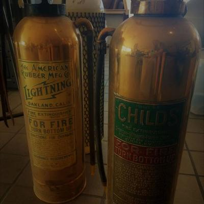 Vintage Fire Extinguishers