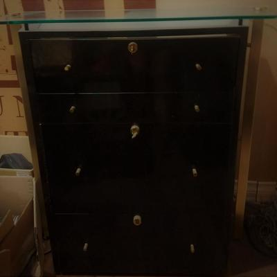 RARE Mont Blanc Display Dealer Cabinet