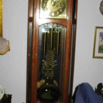 GRAND FATHER CLOCK   BUY IT NOW  $ 500.00