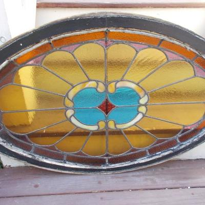 Stained glass $245