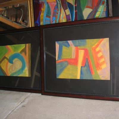 Gallery quality contemporary art collection