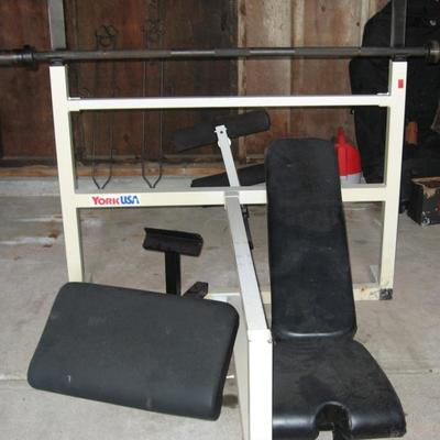 Large collection of high end exercise equipment