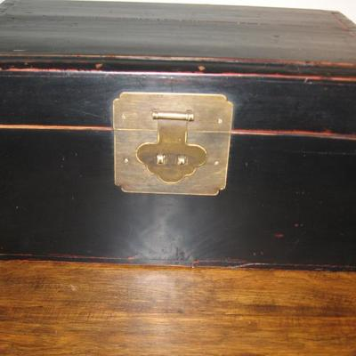 Letter wooden box