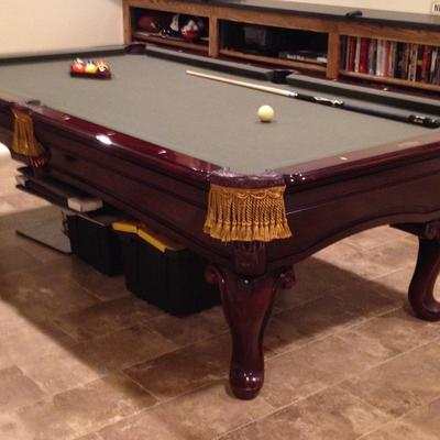 Highland Series Limited Edition Slate Pool Table. Available for pre-sale