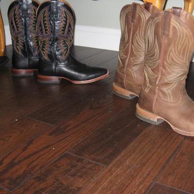 cowboy boots size 10 1/2 - 11 D