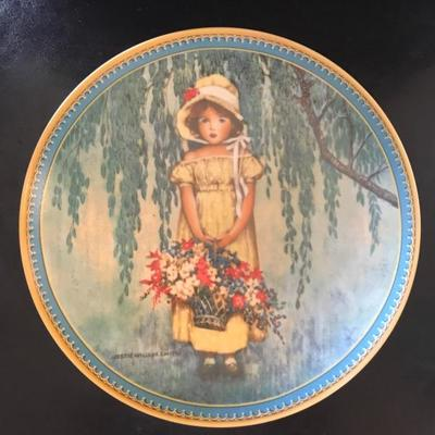 1985 Edwin Knowles fine china plate.