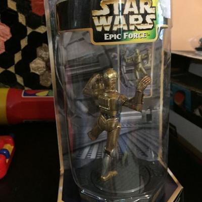 Star Wars Epic Force Figure.