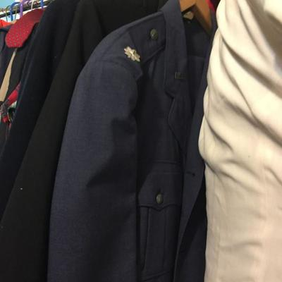 Military Jackets.