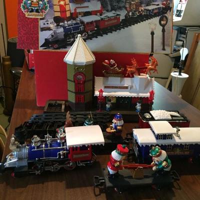 Holiday Train Set.