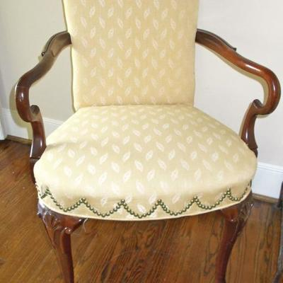 Queen Anne style side chair $225 25 X 18 X 36