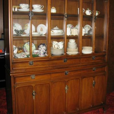 MCM china cabinet, made by White Furniture Co.  BUY IT NOW  $ 635.00