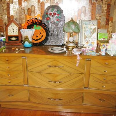 MCM dresser with mirror   BUY ME NOW $ 165.00