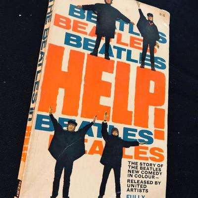 Paperback. Beatles. Beatles. Beatles. Help! 1965. The story of The Beatles new comedy in color - released by United Artists. Fully...