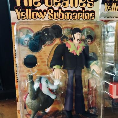 McFarlane Toys. The Beatles Yellow Submarine.