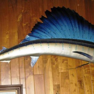 10' long sail fish    BUY IT NOW