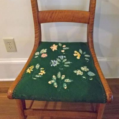 Maple Federalist side chair asking price $625 Reed & Mullin appraisal value $1,100