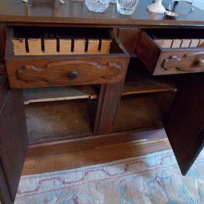 Antique sideboard $495 52 X 20 X 39