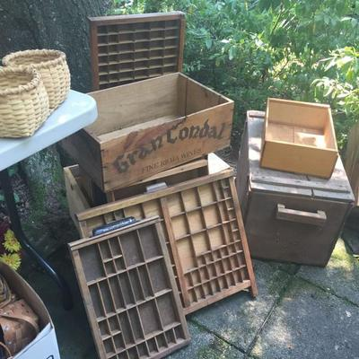 Nice Selection of Wooden Primitives.