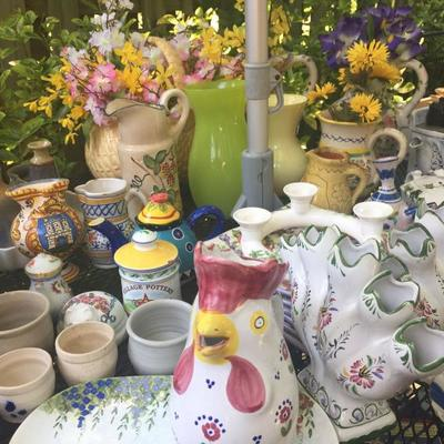 Large Selection of Vintage Ceramic Teapots, Pitchers, Vases and Much More!