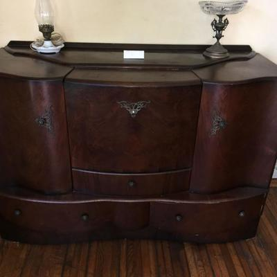 Available for presale.  $500.00 Sideboard/buffet bar.