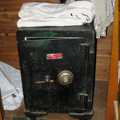 Old very heavy safe on wheels, we have the combination, it works                                              BUY IT NOW  $ 300.00...
